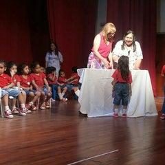 Photo taken at Teatro Municipal de San Lorenzo by Giselle P. on 11/17/2015