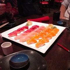 Photo taken at RA Sushi Bar Restaurant by Joyce L. on 4/11/2013