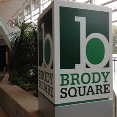 Photo taken at Brody Square by Erik B. on 10/23/2012