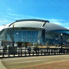 Photo taken at AT&T Stadium by Jay F. on 1/31/2013