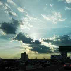 Photo taken at สะพานพระราม 3 (Rama III Bridge) by chompoo s. on 8/18/2015