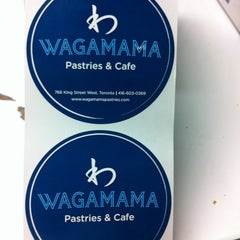 Photo taken at Wagamama Pastries & Cafe by Wagamama Pastries & Cafe w. on 12/28/2012