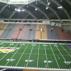 Photo taken at UNI-Dome by Josh B. on 10/20/2012