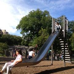 Photo taken at Central Park - Heckscher Playground by Ilie K. on 9/15/2013