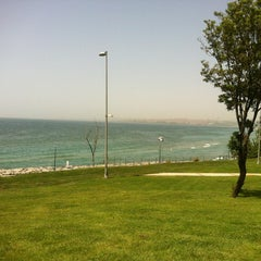Photo taken at Florya Sahili by Oğuzhan A. on 5/31/2013