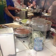 Photo taken at Tacos El Franc by Da P. on 5/22/2015