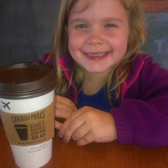 Photo taken at Caribou Coffee by Risa B. on 4/17/2014