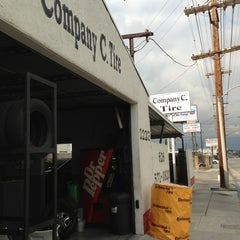 Photo taken at Company C Tire by Ben on 1/26/2013