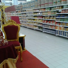 Photo taken at Transmart Carrefour by Hasianna S. on 1/20/2014