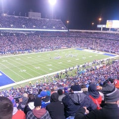 Photo taken at Lot 5 Ralph Wilson Stadium by Nathan K. on 11/16/2012