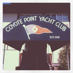 Photo taken at Coyote Point Yacht Club by Daniel P. on 10/1/2012