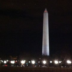 Photo taken at The Ellipse — President's Park South by Teri C. on 2/28/2013