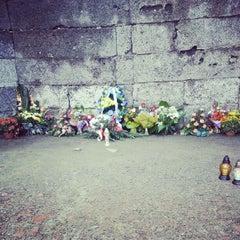 Photo taken at Muzeum Auschwitz-Birkenau by Martyn S. on 10/4/2012