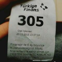 Photo taken at Turkiye Finans Katilim Bankasi by Gizem B. on 11/20/2015