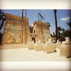 Photo taken at Pharaonic Village by Rizki P. on 5/31/2015