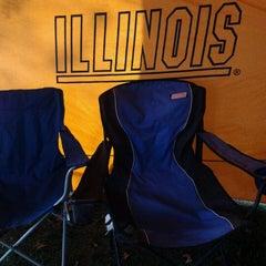 Photo taken at Atkins Tennis Center by Karen F. on 10/27/2012