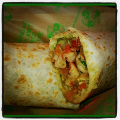 Photo taken at Baja Fresh by Lamont C. on 11/19/2012