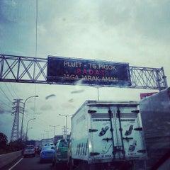 Photo taken at Jalan Tol Pelabuhan by Michel K. on 12/14/2012