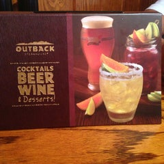 Photo taken at Outback Steakhouse by Monserrat O. on 9/8/2013