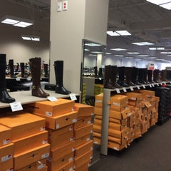 Photo taken at Off Broadway Shoes by Liz G. on 10/12/2015