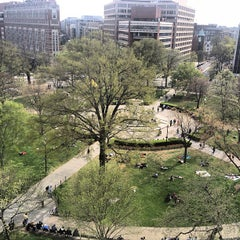 Photo taken at Dupont Circle by D. Sorrell on 4/14/2013