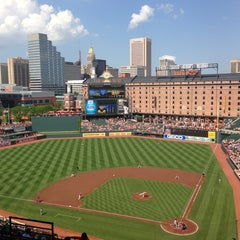 Photo taken at Oriole Park at Camden Yards by Cory P. on 6/1/2013