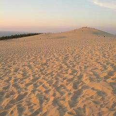 Photo taken at Dune du Pilat by David T. on 8/28/2013