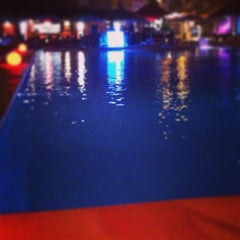 Photo taken at La Jacaranda Lounge Ibiza by Daniel H. on 9/15/2014