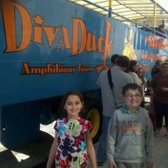 Photo taken at DivaDuck Amphibious Tours by Joel A. on 12/27/2012
