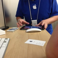 Photo taken at Apple Store, Oxmoor by Brian D. on 6/17/2013