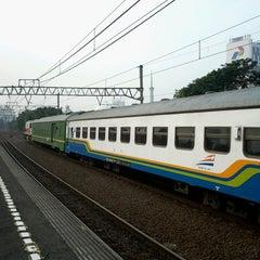 Photo taken at Stasiun Gambir by Hidayat S. on 8/5/2013