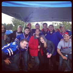 Photo taken at Lot 5 Ralph Wilson Stadium by Nicholas T. on 9/30/2012