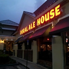 Photo taken at Miller's Doral Ale House by Eduardo S. on 10/7/2012