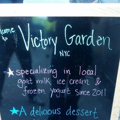 Photo taken at Victory Garden by Simon F. on 6/12/2013