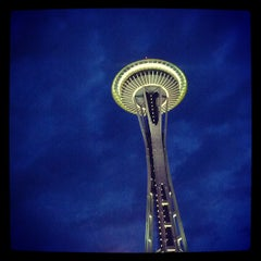 Photo taken at Space Needle by Ryan B. on 7/17/2013