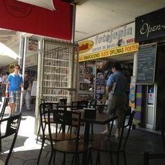 Photo taken at Cafe Open Santiago by Viviana P. on 1/8/2013