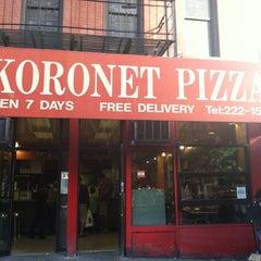 Photo taken at Koronet Pizza by SilverDot⚪️ C. on 9/16/2012