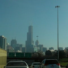 Photo taken at Kennedy Expressway by Christine T. on 11/21/2012