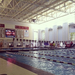 Photo taken at University Center Pool by Hensley A. on 11/2/2013