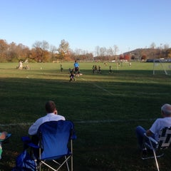 Photo taken at Pendery Park Campbell County Sports Complex by Sam T. on 10/24/2012