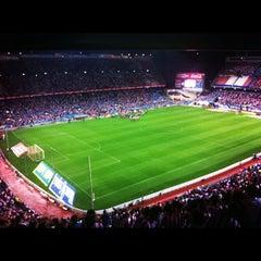 Photo taken at Estadio Vicente Calderón by David P. on 9/16/2012