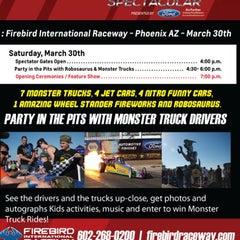 Photo taken at Firebird International Raceway by Troy P. on 3/30/2013