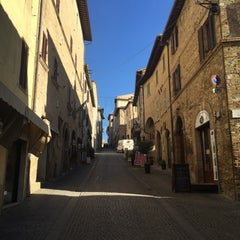 Photo taken at Montefalco by Olaf K. on 12/19/2014
