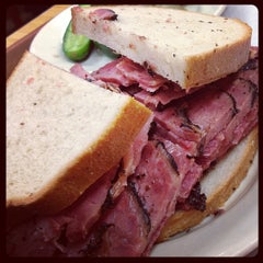 Photo taken at Katz's Delicatessen by Mark C. on 4/15/2013