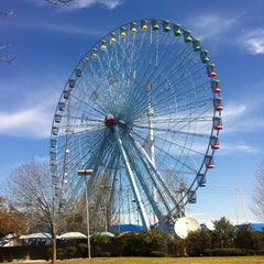 Photo taken at Texas Star Ferris Wheel by Britness &. on 3/12/2013