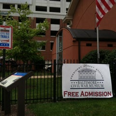 Photo taken at Baltimore Civil War Museum at President Street Station by Tracy L. on 7/13/2014