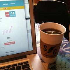 Photo taken at Sidewinder Coffee + Tea by James M. on 3/18/2013