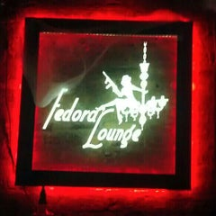 Photo taken at Fedora Lounge by Leon D. on 12/30/2012