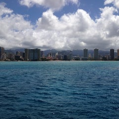 Photo taken at Waikiki Ocean Club by Saad on 5/26/2013