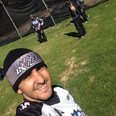 Photo taken at Al Limite Paintball by Oscar C. on 1/17/2016